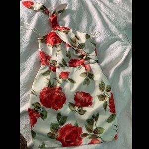 Alexia Admor Flower Dress